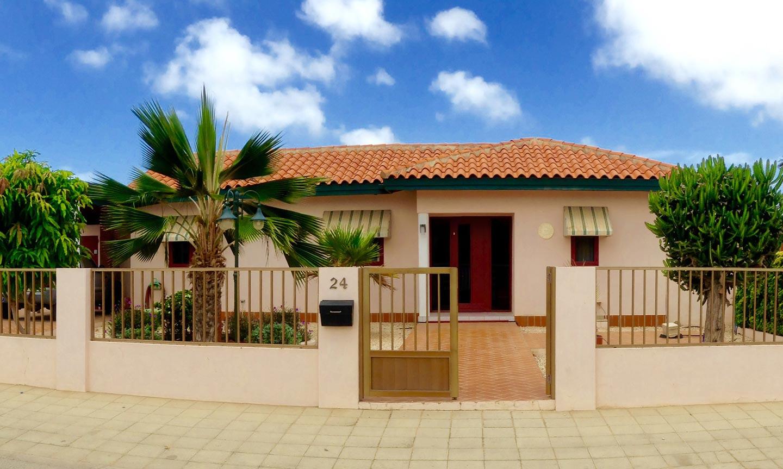 Entree - Vakantiehuis Aruba
